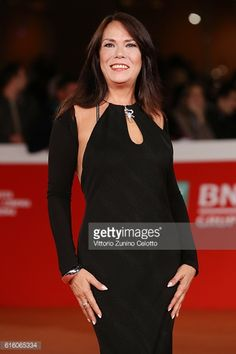 01-21 ROME, ITALY - OCTOBER 21: Lucia Stara walks a red carpet... #staranovalja: 01-21 ROME, ITALY - OCTOBER 21: Lucia Stara… #staranovalja