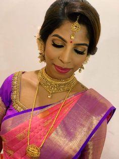 Vithya Hair and Makeup #malaysia #malaysianmuah #malaysianbride #vithyamakeup #vithyahairandmakeup #tamilbride #tamilwedding #makeup #hairstyle #bridal ...