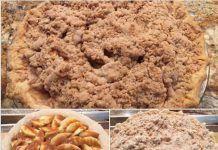 Caramel Apple Pie Pork Steak Recipe Crock Pot, Steak Recipes, Crockpot Recipes, African Spinach Recipe, Spinach Recipes, Chocolate Eclair Cake, Sopapilla Cheesecake, Deep Dish, Stick Of Butter