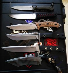knives made by @marcins_knives @lambertknives @careyblade @sibertknives @leewilliamsknives @mickstrider, part of the collection now.I dont collect folders#customknives#handmade #usntagram #knifegrail #knifeporn