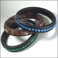 Polymer Clay and Gemstones Bracelet, Polymer Tutorials