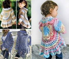 Crochet Circular Jacket Free Patterns on our Site