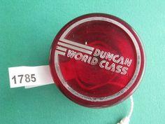 Duncan World Class Red Yo Yo YoYo 1785 | eBay