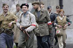 Czas honoru - Powstanie (2014) Warsaw Uprising, Draw On Photos, Bucky Barnes, Homescreen, World War Ii, Diesel, Military Jacket, Handsome, Stones