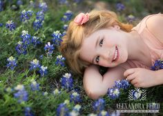 Girl laying in #bluebonnets  Alexandra Feild Photography: Texas Bluebonnet photos