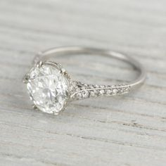 J.E. Caldwell & Co. Vintage Diamond Engagement Rings