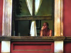 Edward Hopper American realist painter and printmaker If you could say it in words there would be no reason to paint. American Realism, American Artists, Edward Hopper Paintings, Oeuvre D'art, Painting Inspiration, Kitsch, Art History, Painting & Drawing, Modern Art