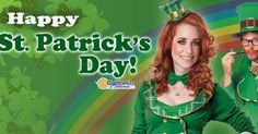 """Celebrate St. Patrick's Day in our festive """"Lucky Charm"""" and """"Lucky Leprechaun"""" costumes from our friends at @calcostumes  Contact us at 585-482-8780 for more information or check out select costumes and accessories on our website www.arlenescostumes.com including St. Patrick's Day!  #stpatricksday #leprechaun #irish #march172017 #stpattysday"""