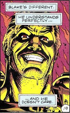 I love you, Sheriff Truman Quis Custodiet Ipsos Custodes, Manhattan Wallpaper, Comic Book Wallpaper, Dave Gibbons, Doomsday Clock, Sci Fi Films, Comic Panels, Gothic Art, Comic Books Art