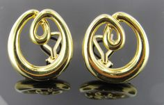 Ferro Jewelers - Estate Jewelry | TIFFANY & Co. 18K DOUBLE LOOP EARRINGS