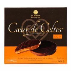 Coeur de Celtes chocolat noir