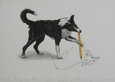 If a Border Collie could draw...lol:)