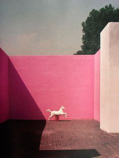 "poetryconcrete: "" Barragan House, by Luis Barragan, 1948, in Tacubaya, Mexico """