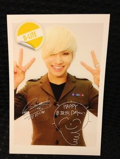 Daesung Birthday Card ♡ #BIGBANG