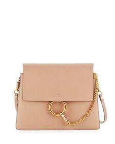 Faye Medium Leather Shoulder Bag by Chloe at Neiman Marcus.