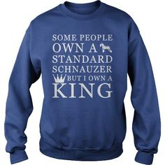 SOME PEOPLE OWN A STANDARD SCHNAUZER BUT I OWN A KING  CREW SWEATSHIRTS T-SHIRTS, HOODIES ( ==►►Click To Shopping Now) #some #people #own #a #standard #schnauzer #but #i #own #a #king # #crew #sweatshirts #Dogfashion #Dogs #Dog #SunfrogTshirts #Sunfrogshirts #shirts #tshirt #hoodie #sweatshirt #fashion #style