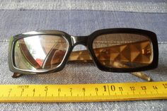 1 schwarze Sonnenbrille neu Modell Nr.157 Brille