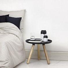 Normann Copenhagen | Plus - bed linen grey 140x200 + 60x63