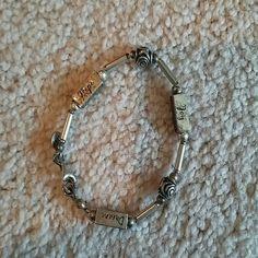 Selling this Hope, Dream, Joy Bracelet in my Poshmark closet! My username is: karpediem22. #shopmycloset #poshmark #fashion #shopping #style #forsale #Jewelry