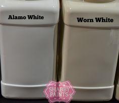 Alamo White & Worn White Chalked Paint