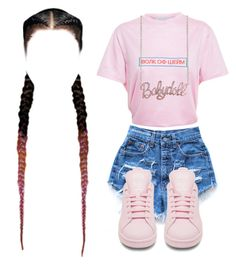 """Ain't Nobody Triller Than Me, Ain't Nobody Triller Than Scott"" by kierstinthesavage ❤ liked on Polyvore featuring Levi's and Walk of Shame"
