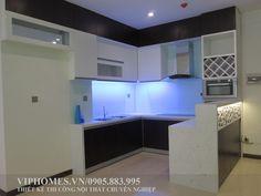 thiết kế và thi công phòng ngủ căn hộ Era Đức Khải. viphomes.vn/