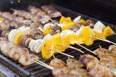 Grilled Shrimp & Scallops