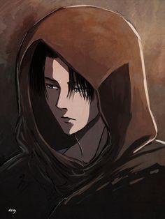 """mikylittlem: """"Levi Ackerman Shingeki no Kyojin """" Armin, Eren E Levi, Ereri, Levihan, Manga Anime, Fanarts Anime, Anime Art, Levi Ackerman, Kuroko"""