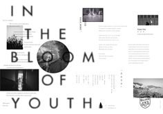IN THE BLOOM OF YOUTH on Behance