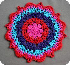 Crochet Doily Tutorial