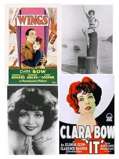Clara Bow in IT! & WINGS, too! (1927)  $7.99 1 DVD Free Ship USA