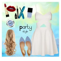 Party style by adel-en on Polyvore featuring Topshop, Oasis, Dolce&Gabbana, Napoleon Perdis and Witchery