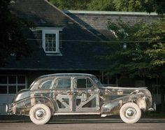 1939 Clear Plexiglass Pontiac Deluxe 6 Ghost Car