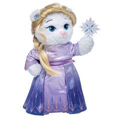 Disney Frozen 2 Elsa Inspired Bear Arendelle Gift Set, , hi-res Elsa, Frozen Merchandise, Disney Surprise, Disney Frozen 2, Cute Stuffed Animals, Blue Gift, Build A Bear, Pet Gifts, Costume