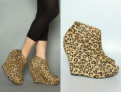 i would buy literally anything cheetah print... especially these.