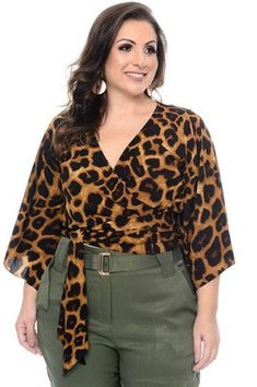 Cropped Plus Size Zaher Looks Plus Size, Look Plus, Animal Print Outfits, Target Dresses, Plus Size Dresses, My Outfit, Casual Looks, Plus Size Fashion, Siberia