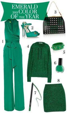 Emerald Green - Color of 2013 by DeeDeeBean