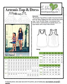 8a8c49e2d4f4c Artemis Cover Photo Stitch Upon A Time, Pattern Library, Cover Pages, Sewing  Patterns