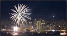 San Francisco AND fireworks!