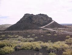 Craters of the Moon National Park, ID.  Cinder cone.