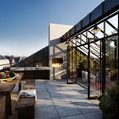 outdoor living room - súper terraza