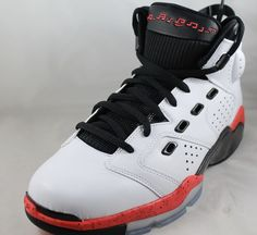 NIKE AIR JORDAN 6-17-23 White/Infrared 23 Black Shoes 428817-123 Sz 11 #Nike #BasketballShoes