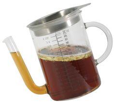 Glass Gravy Separator 4-Cup