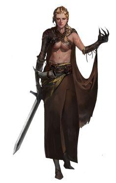 Warrior by eun ji yang