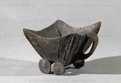 BCE Clay vessel in form of a wagon with four wheels. The first representation of a wagon in Europe Mill. BCE) from Budakalasz, grave Height cm, length cm Inv. Historical Artifacts, Stone Age, Budapest Hungary, National Museum, Archaeology, Art History, Wheels, Objects, Pottery