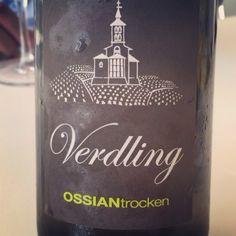 Verdling Ossian Trocken (verdejo de VT Castilla y León) #vino #videocata #uvinum @ossianvinos