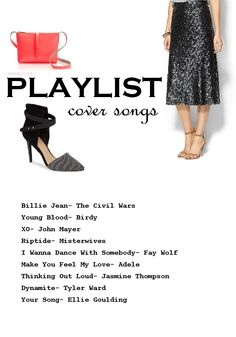 playlist // cover songs