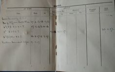 My grandfather's record of service in The Unit