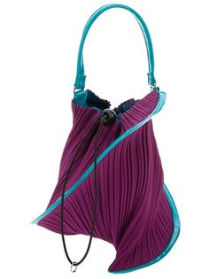 PLEATS PLEASE BY ISSEY MIYAKE Pleated Pouch Bag