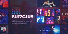 Download and review of Buzz Club - Night Club, DJ & Music Festival Event WordPress Theme, one of the best Themeforest Entertainment themes